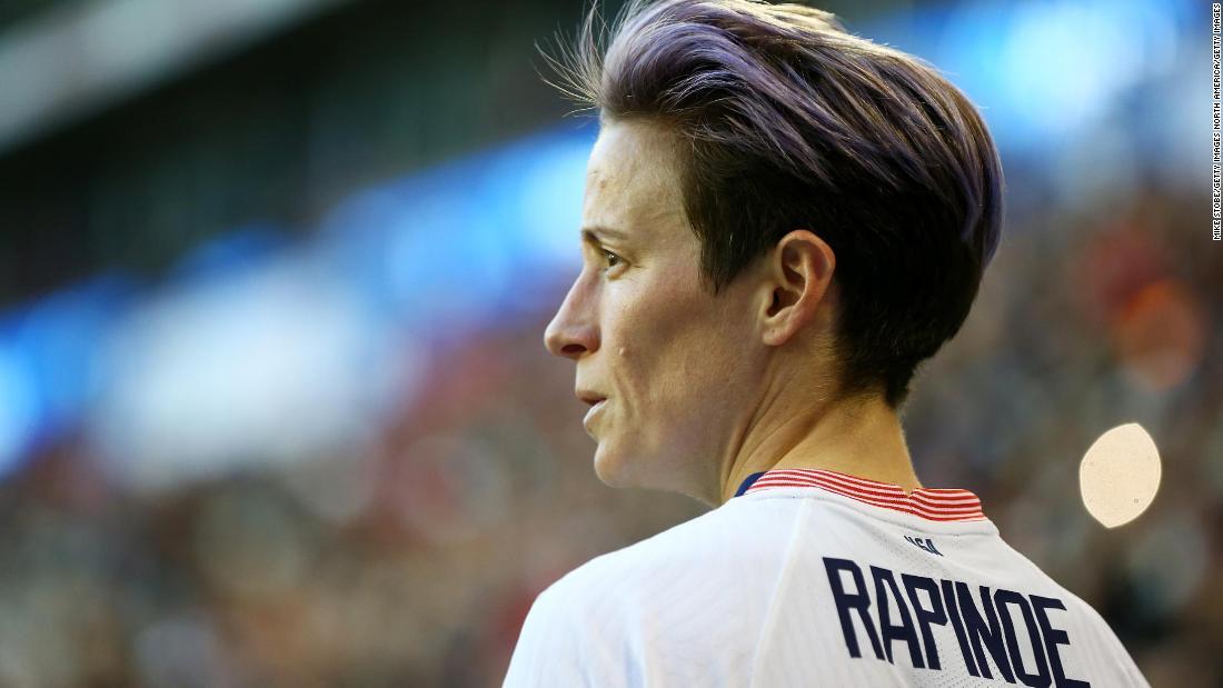 Megan Rapinoe slams US Soccer for 'blatant sexism'