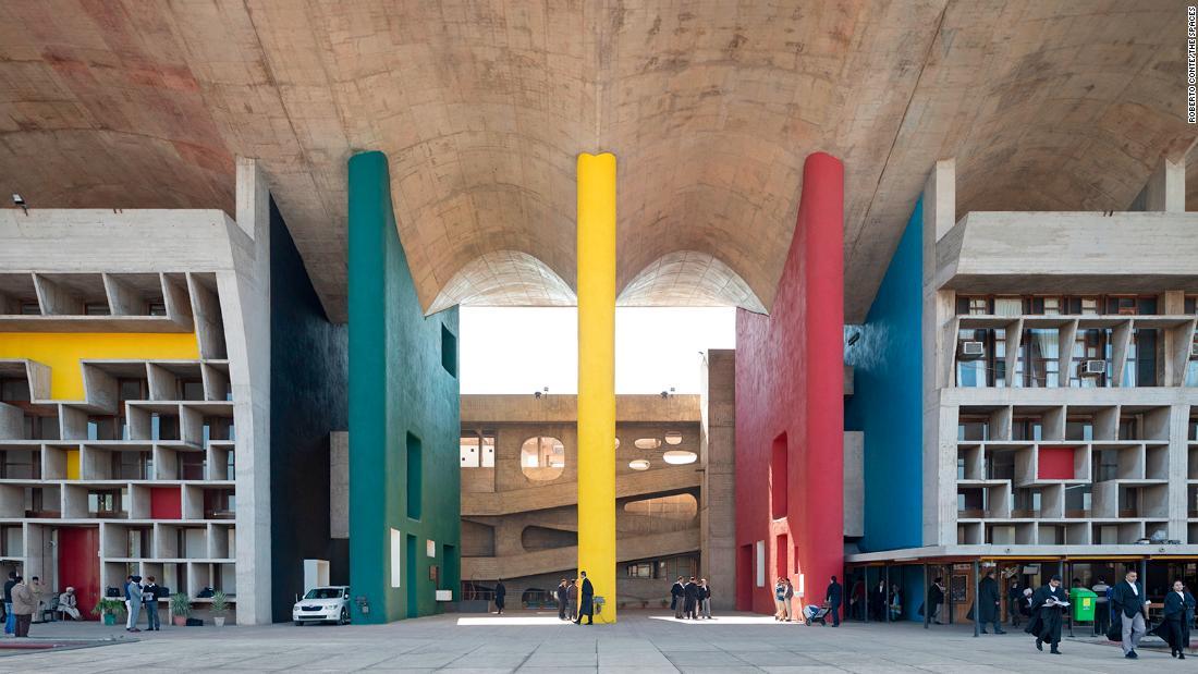 Explore the modernist Indian metropolis of Le Corbusier