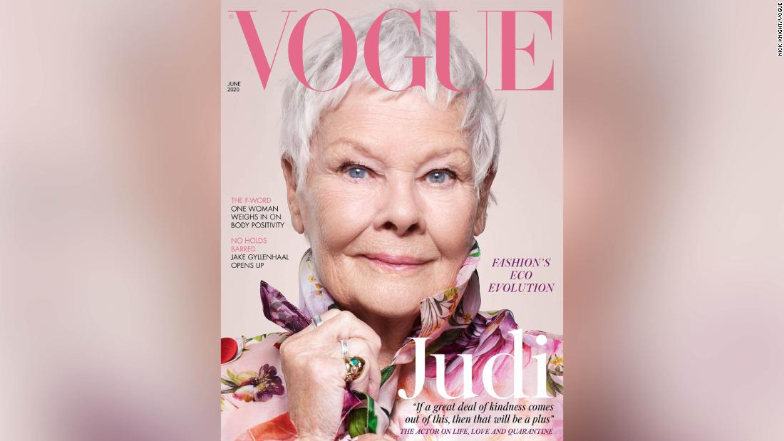Judi Dench becomes the oldest star on the British Vogue cover