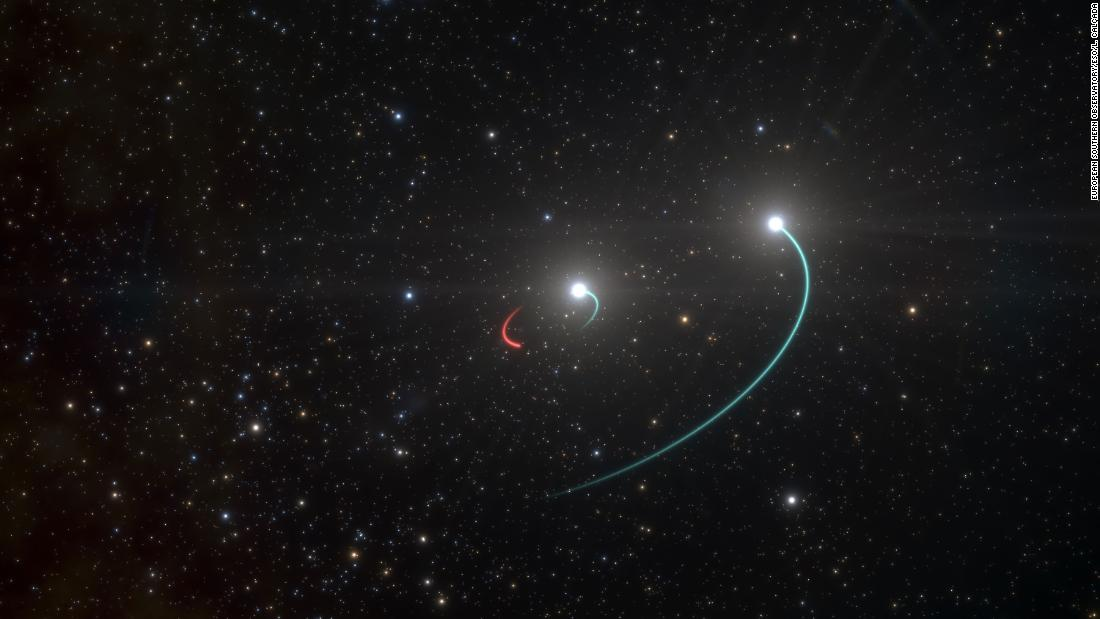 Astronomers find the closest black hole to Earth, 1,000 light years away
