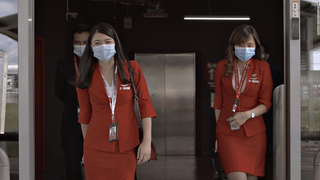 IATA masks support the masks, but not the central seat closures for post coronavirus air travel