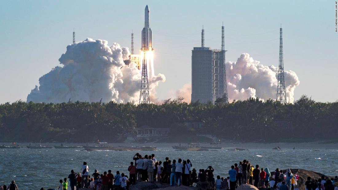 China launches new rocket into space