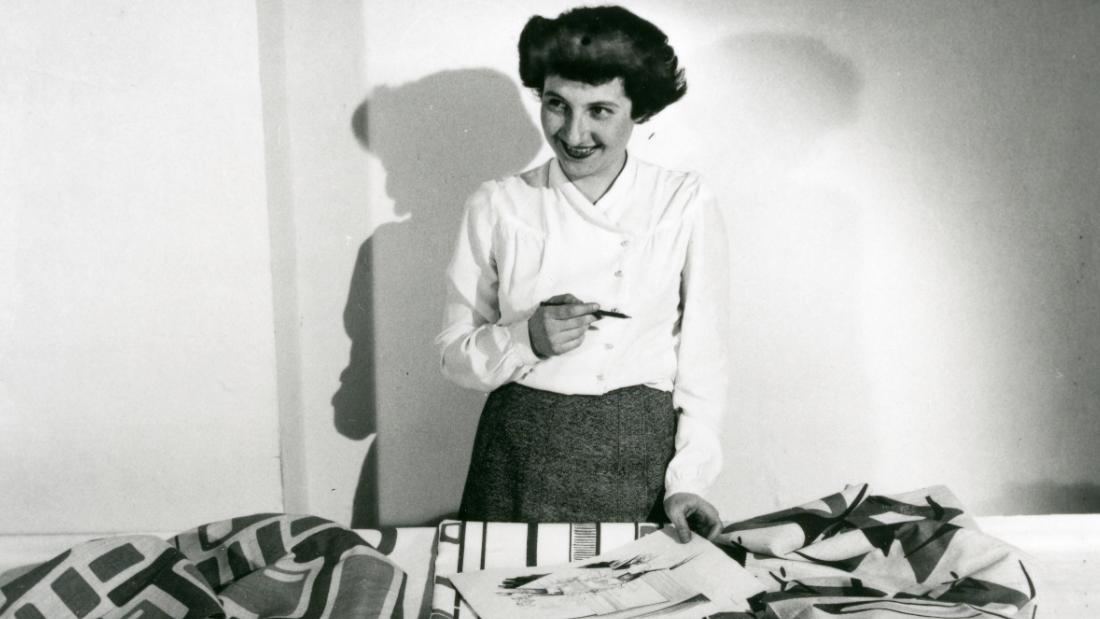 Designer Ruth Adler Schnee helped define mid-century modernism