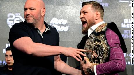 & # 39; I don't want to die, it's says UFC chief Dana White as sport returns to work amid the pandemic