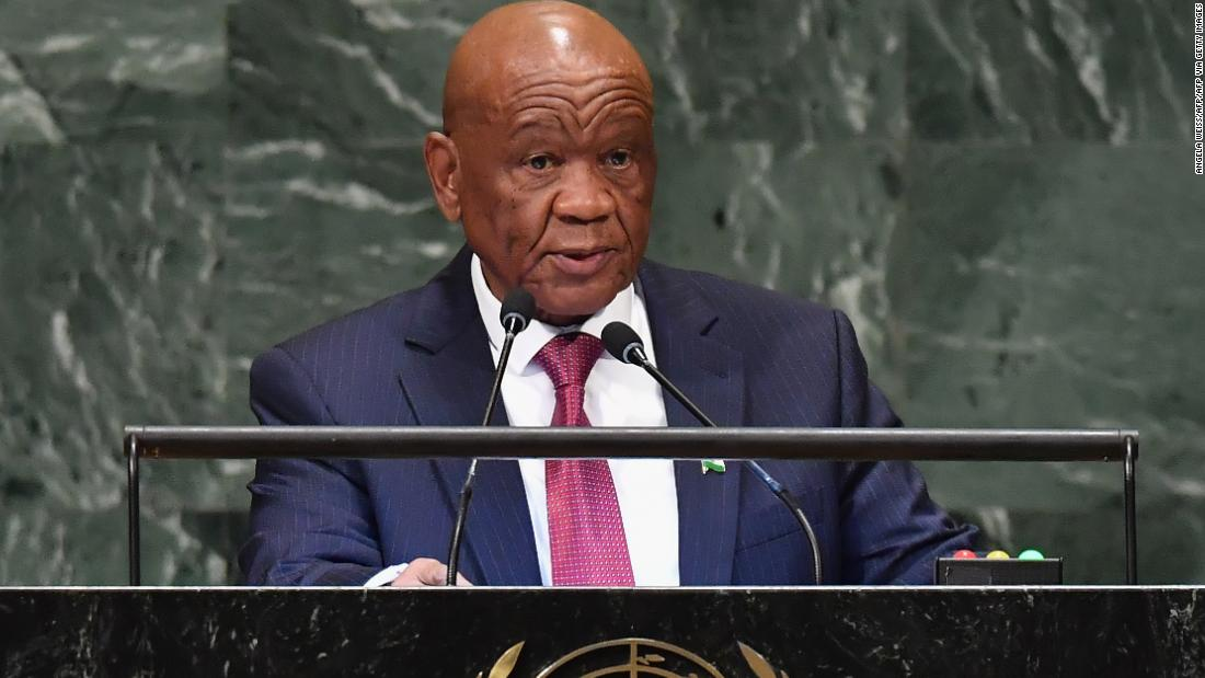 Lesotho's first lady charged with murder
