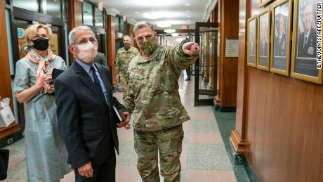 How the coronavirus pandemic rocked the U.S. military