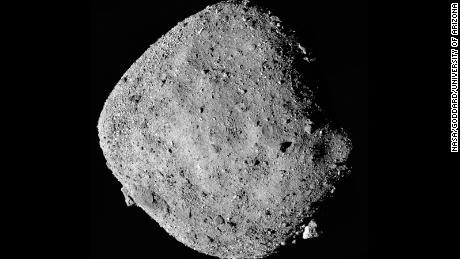 NASA's plan to collect the first sample from an asteroid finds its goal