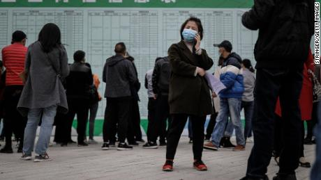 80 million Chinese may already be out of work. Another 9 million will soon be competing for work too