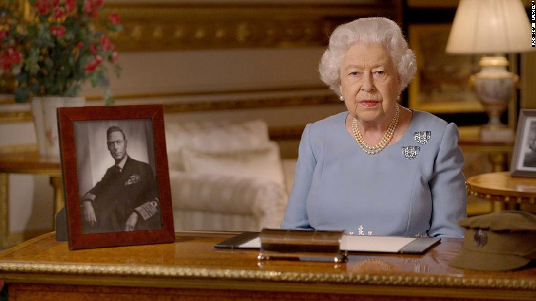 Queen Elizabeth compares the British coronavirus response to wartime generation
