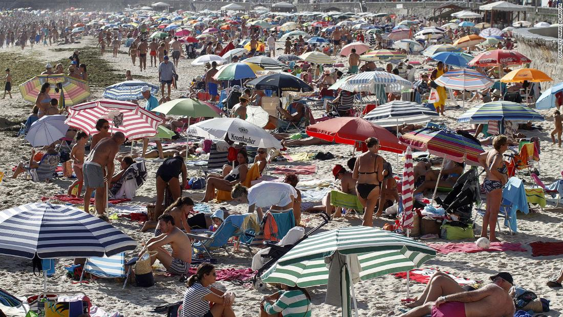 A reservation for the beach may be needed this summer