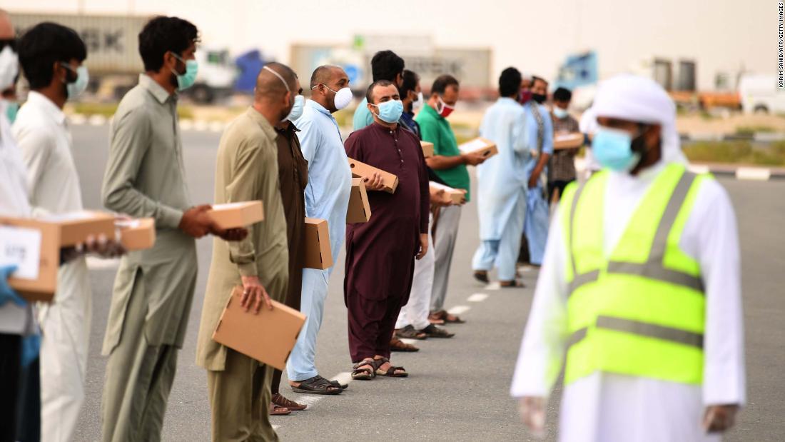 India begins repatriating workers left stranded in the UAE