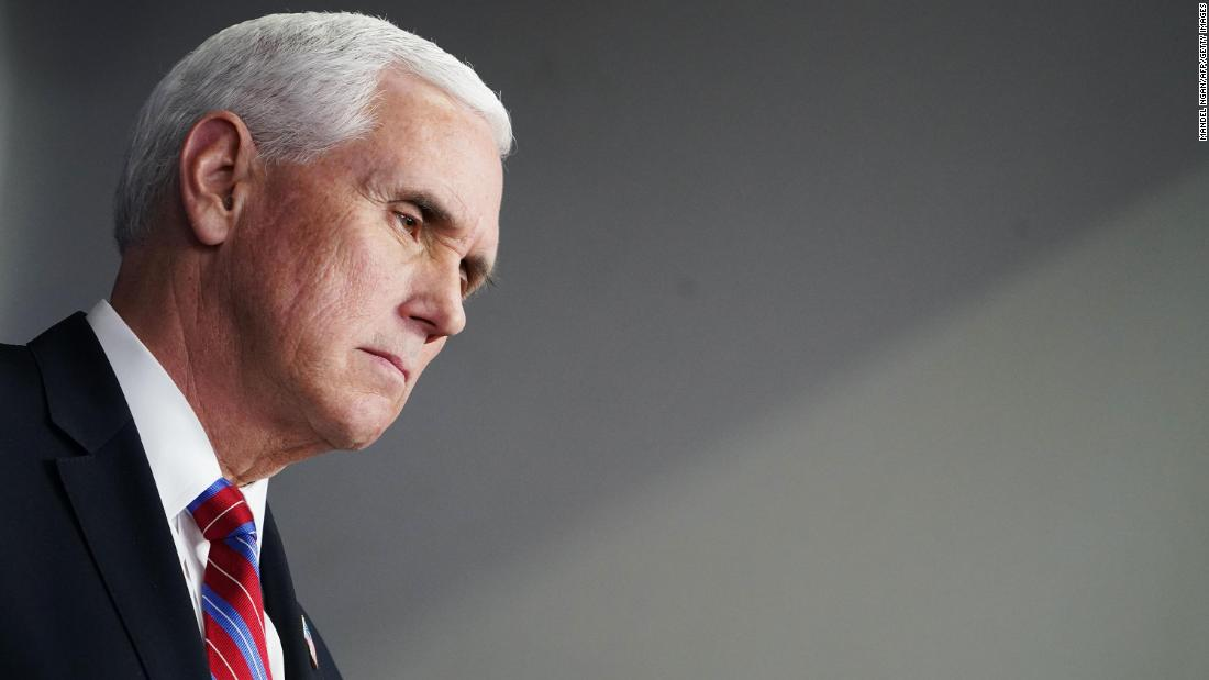 Pence will not isolate after aide tests positive for Covid-19