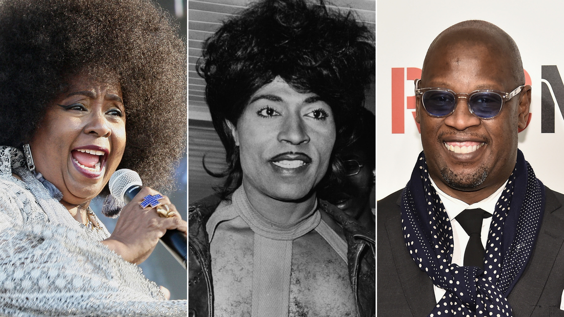 (L-R) Betty Wright, Little Richard and Andre Harrell