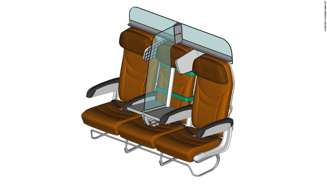 The PlanBay plane seat design would help you to socialize remotely