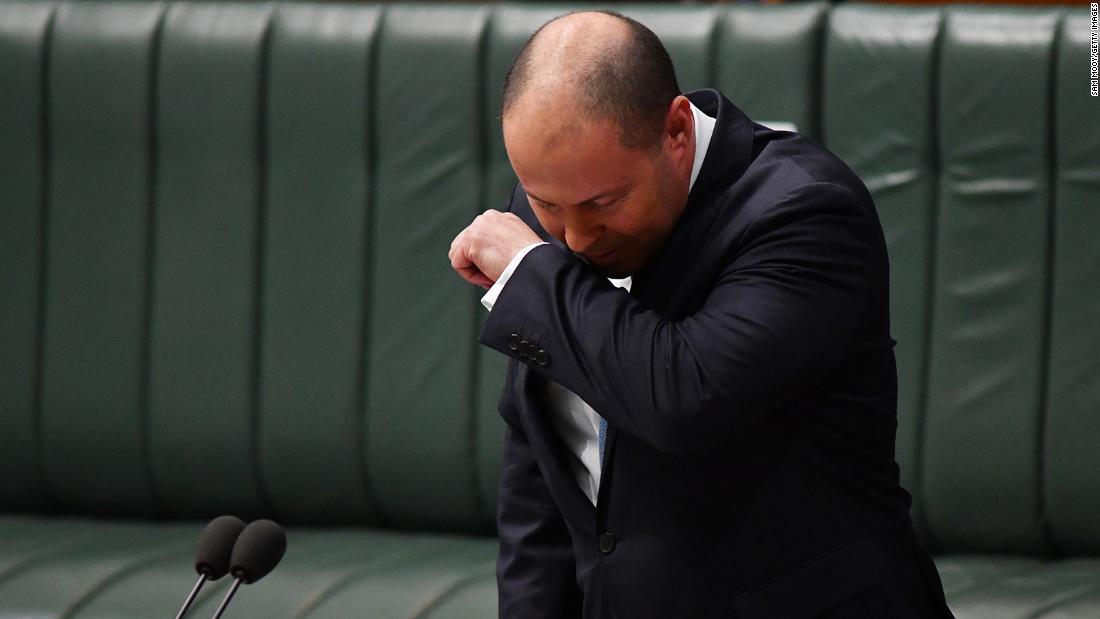Josh Frydenberg addressed the House of Representatives on Australia's economic situation Tuesday.