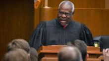 Judge Clarence Thomas has found his moment