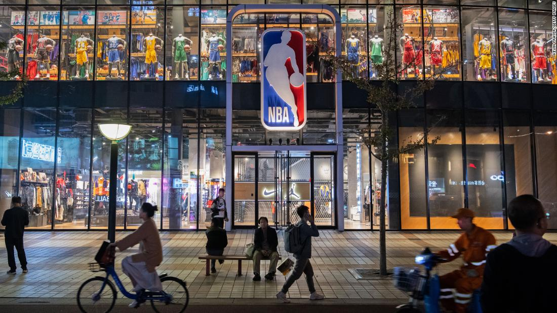NBA has a new CEO in China. His first task is to recover Beijing