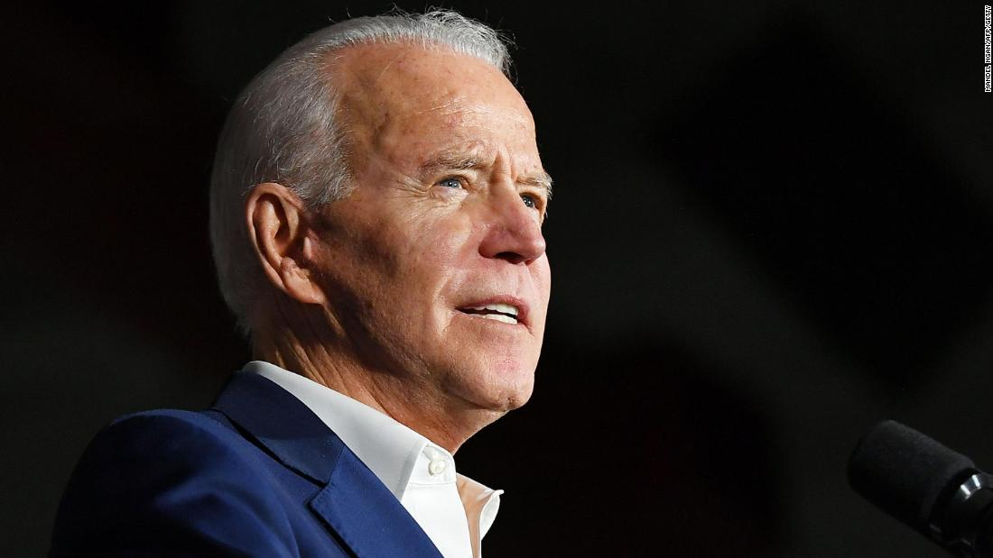 Biden commits to having a woman as vice president