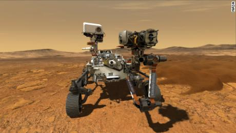 The Mars 2020 rover is officially called & # 39; Perseverance & # 39;