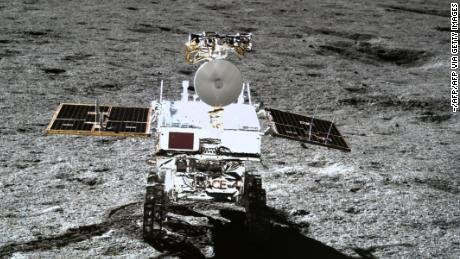 The Chinese space mission reveals how it is on the opposite bank of the moon