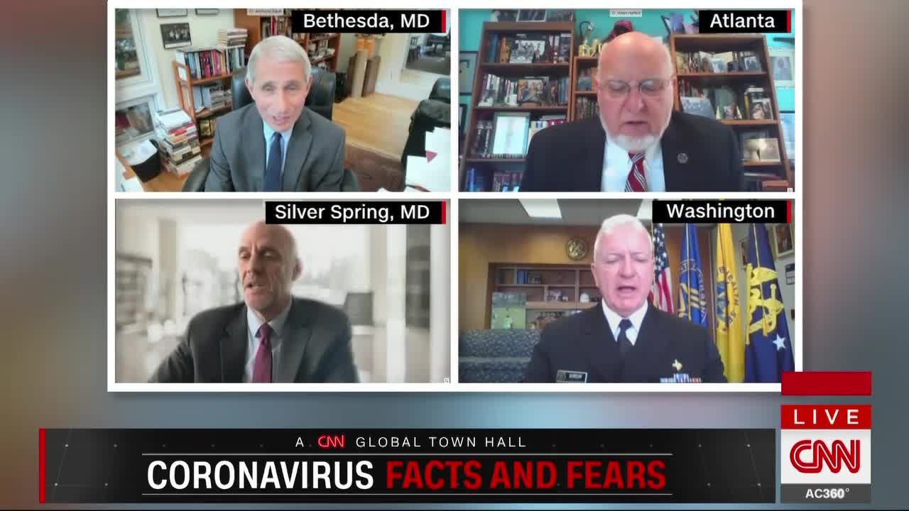 The White House refuses to have members of the coronavirus task force in CNN's global city hall