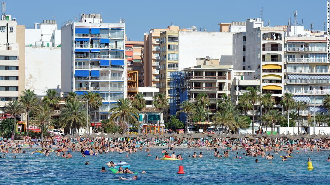Spain of Majorca observes German travelers by the end of June to start tourism again