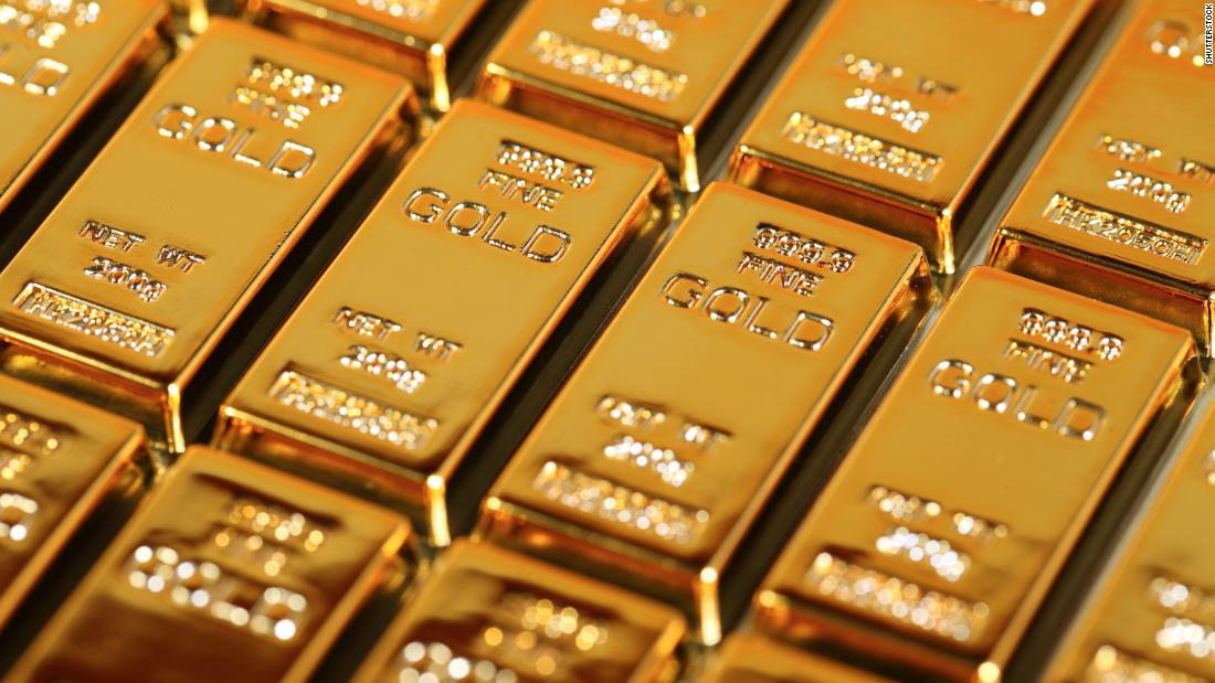 A new gold rush. Yellow metal close to eight years maximum