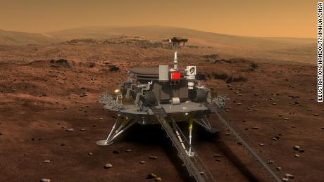 China reveals the name of the mission to Mars, which will take place in the coming months & # 39;