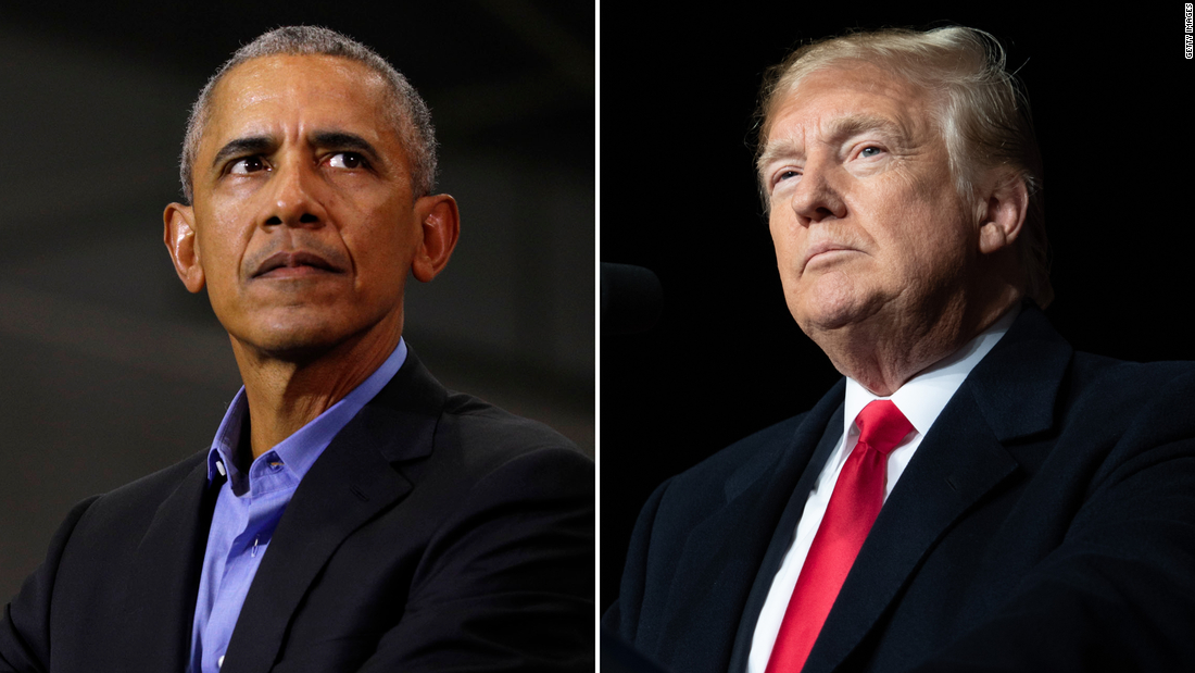 Trump attacks Obama as he pivots to reelection