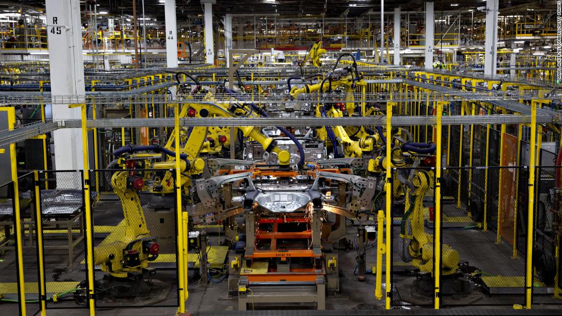 Ford forced two production plants to cease production after employees tested positive for Covid-19