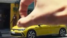A screen captured by advertising. Volkswagen has withdrawn the video, but has been republished elsewhere on social media.