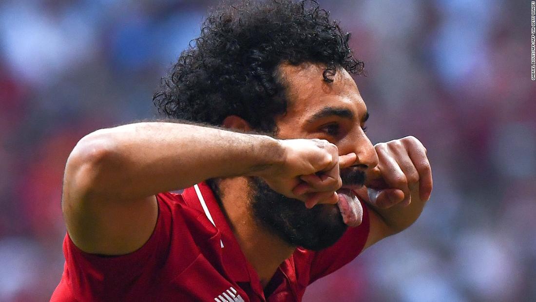 Mohamed Salah's quickfire challenge