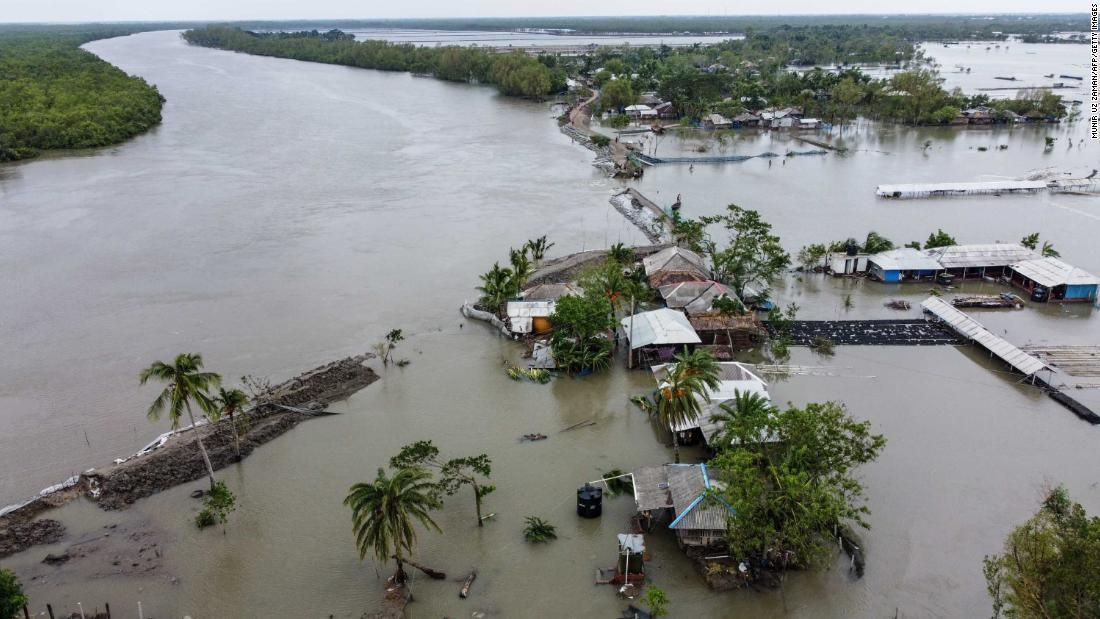 Cyclone Amphan kills dozens and leaves thousands homeless