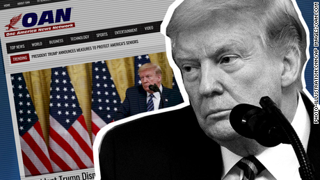 Meet OAN, the little-watched right-wing news channel that Trump continues to promote
