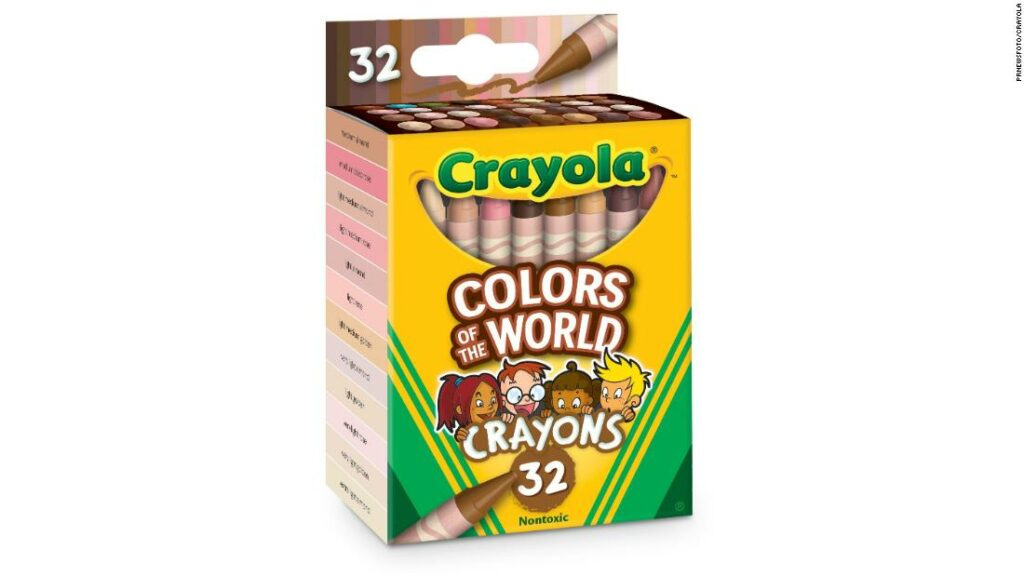 Crayola unveils new pastel packs to reflect the skin tones of the world