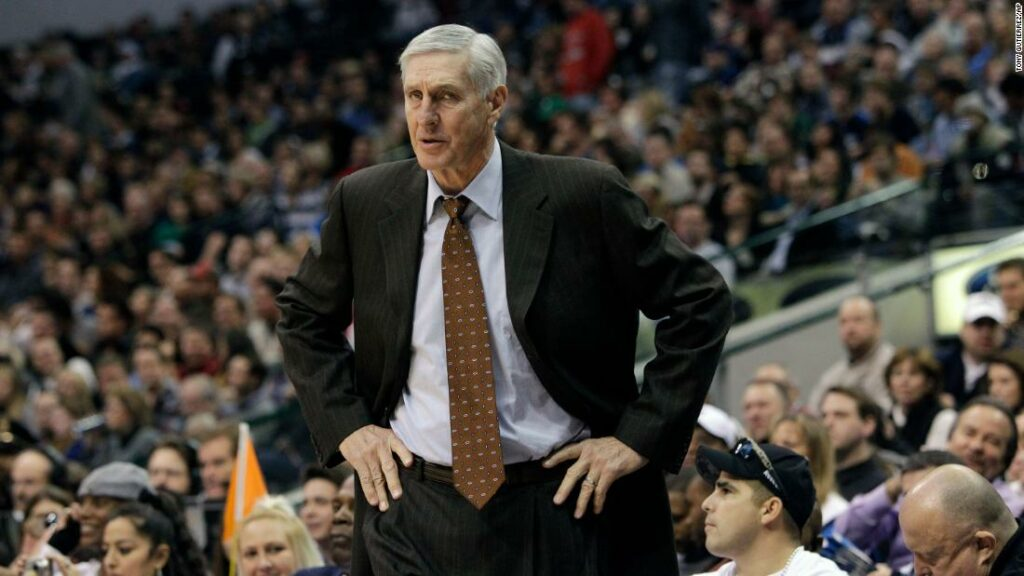 Utah Jazz head coach Jerry Sloan is shown during an NBA basketball game against the Dallas Mavericks in Dallas on Dec. 11, 2010.
