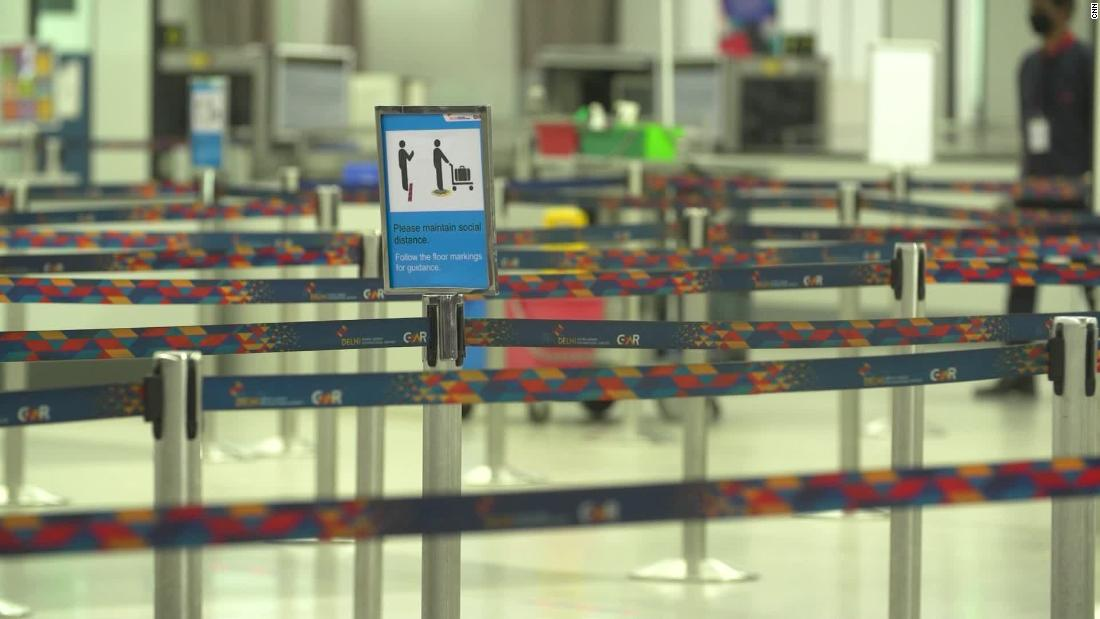 India's airports begin to reopen
