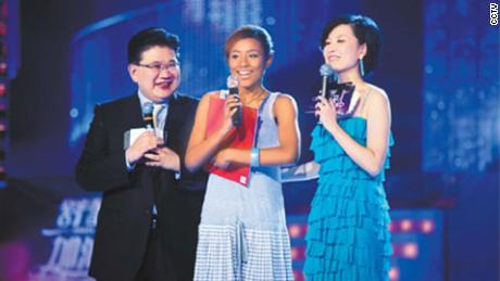 In 2009, an African-Chinese contestant on the Shanghai TV talent show received a flurry of Internet abuse because of her skin color.
