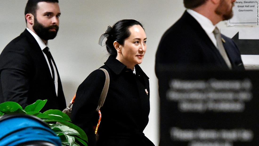 huawei ren zengfei one year meng wanzhou arrest sot nr vpx_00012225