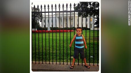 Jack Rico was standing in front of the White House when he was four years old.