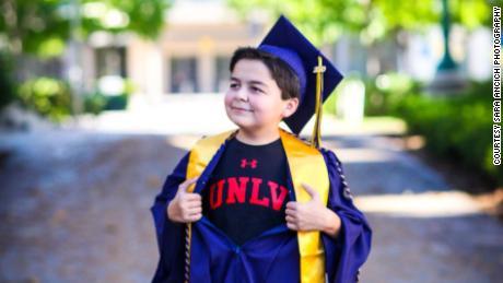Rico is headed to the University of Nevada, Las Vegas, to obtain a history degree.