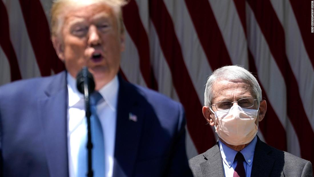 Trump takes jab at journalist for wearing mask
