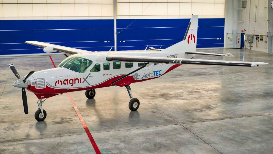 The largest all-electric aircraft for maiden flight