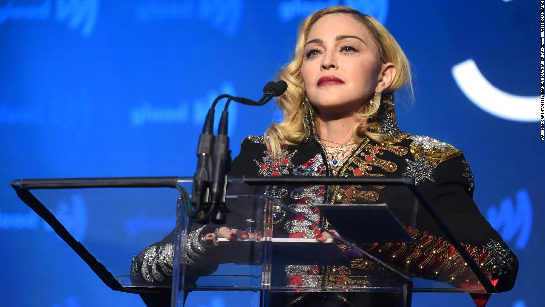Madonna released a video tribute to George Floyd and it didn't go well