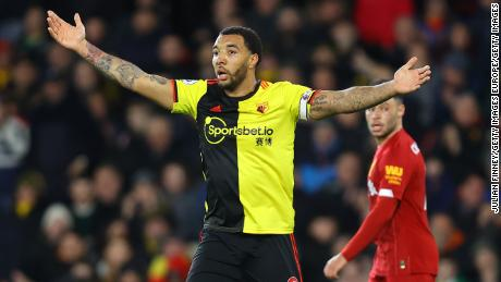 Troy Deeney expressed concern about the return to training.
