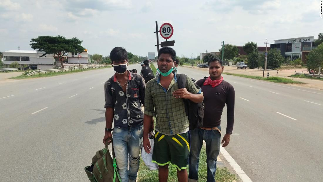 The blocking of the coronavirus in India: a man's agonizing 1,250-mile journey home ... on foot