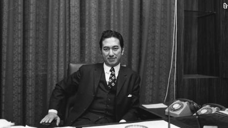 Stanley Ho had amassed a fortune by the end of World War II. This image is from 1971.