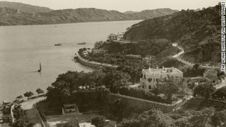 The Macau coast in 1941.