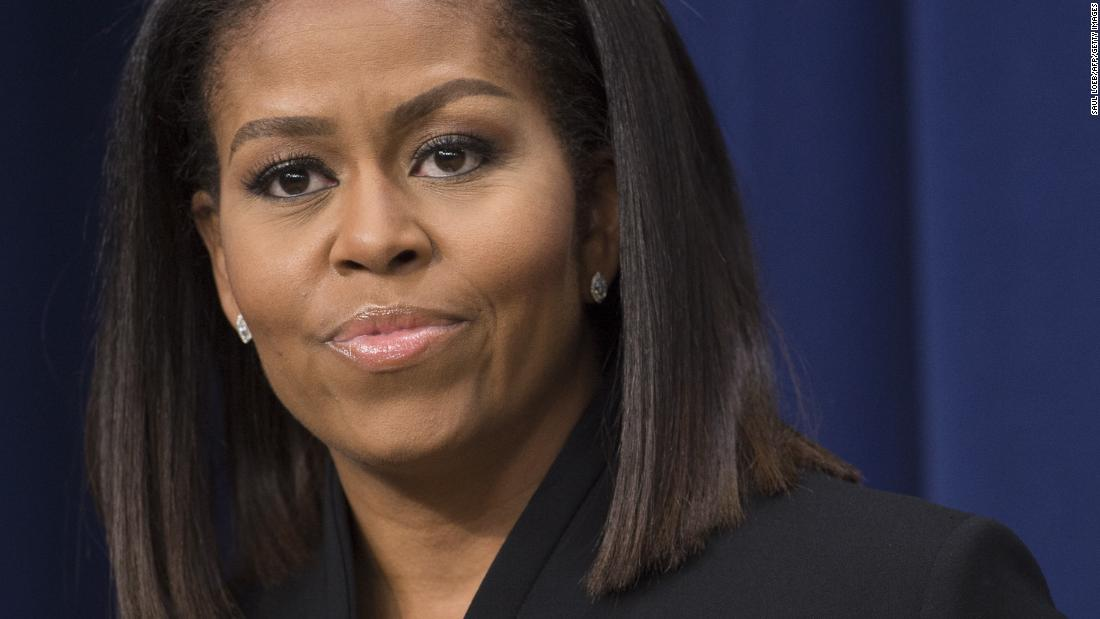 Michelle Obama: It's up to everyone to eradicate racism