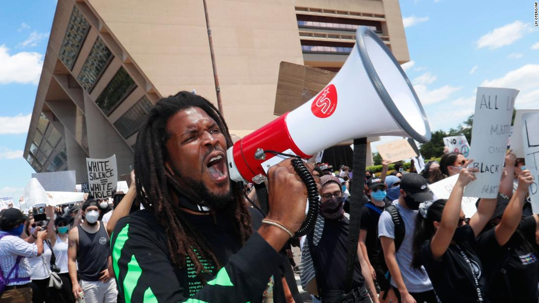 George Floyd's protests spread nationwide